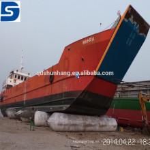 Airbag de goma inflable marino del proveedor de la fábrica de China para el lanzamiento y el aterrizaje del barco