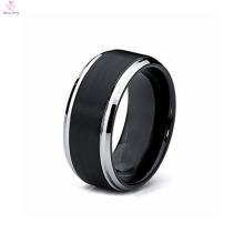 Valeur 925 argent plastique Couronne perle Design pour homme Mood Ring