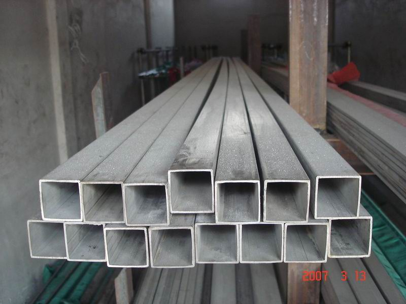 Welded Rectangle Special Steel Pipe ST37.0,ST44.0