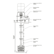 Electric Deep Well Cargo Pump for Oil/Chemicals Tanker