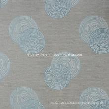 Tissu de rideau en polyester 100% poli en première classe