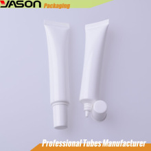 Cosmetic Nozzle Tube With Plated Trump-Shaped Cap