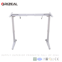 Simple design Office Funiture Sit And Stand Up Electric Height Adjustable Standing Desk with memory