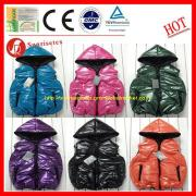 Bright surface down jacket waterproof fabric