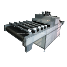 High speed UV tunnel for offset printing machine