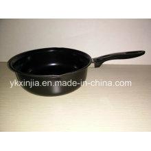 Посуда с антипригарным покрытием из алюминиевого углеродистой стали