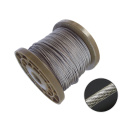 Câble métallique en acier inoxydable enduit de PVC transparent AISI304