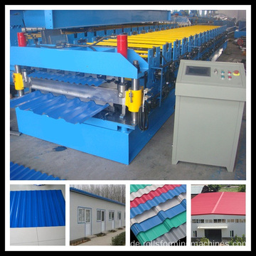 Double Color Sheet Dachformmaschine