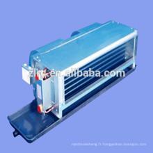 CE refroidisseur d'eau et pompe à chaleur murale prix ventilateur de bobine d'eau