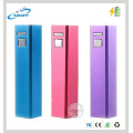 Factory Low Price Gift 2200mAh Steel Power Bank with LED
