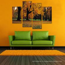 Картины современных деревьев