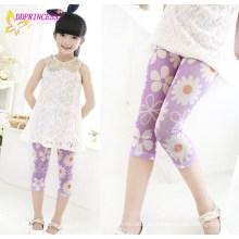 Beheizte Großhandel Mädchen Floral Casual Kids Printed Pants