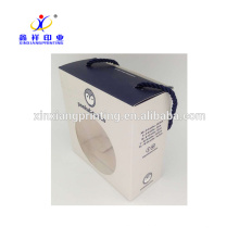 Os bebês feitos sob encomenda da caixa de sapata de bebê de Xinxiang calçam caixas de empacotamento com janela