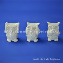 Ceramic Owl Samll Figurines Decoration