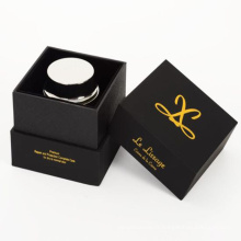 Boîte de papier cadeau bougie luxe carton personnalisé
