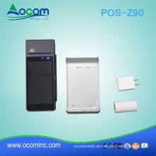 venta al por menor portátil handheld android dispositivo de la máquina terminal terminal de la máquina con NFC y impresora térmica