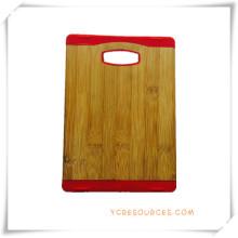 Planche à découper planche à découper en bambou pour cadeaux promotionnels (HA88006)