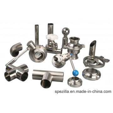 Tubos e acessórios para tubos de aço inoxidável