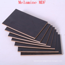Barato tablero de MDF con laminado de melamina