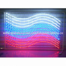 Outdoor LED Flexible Fancy Festive Motif Lights of Russian Flag