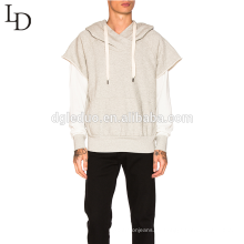 Sudadera con capucha sudadera con capucha gris de diseño nuevo para hombre con bolsillo