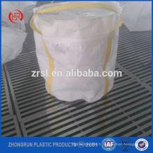 petite taille grand sac - sac de fibc avec le petit fond de suare -qui peut tenir 300kg seulement blanc sac de 2 boucles