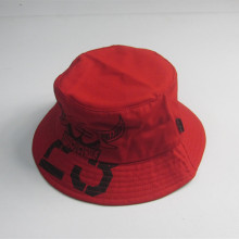 Kvinnor Red Print Bucket Hat