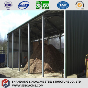 Low Cost Prefab Light Structural Diary Farm Shed