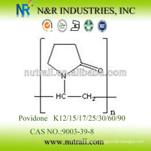 Reliable supplier Povidone K12/K15/K17/K25/K30/K60/K90