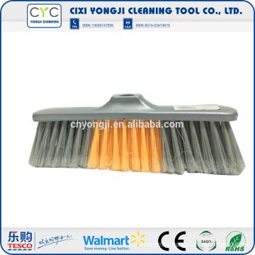 La venta caliente limpia la escoba plástica de las herramientas colorida