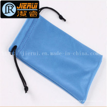 Microfiber Sunglasses Cloth Pouch with Logo Printed