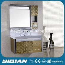 Cabinet de vanité en acier inoxydable Hot Cabinet en acier inoxydable pour évier