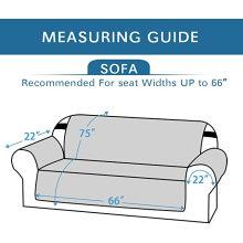 Fundas de sofá resistentes al agua de tela de microfibra suave