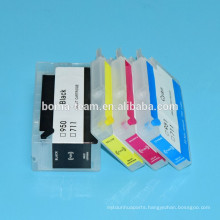 4 color refill ink cartridge for HP Designjet T120 T520 printer for hp 711
