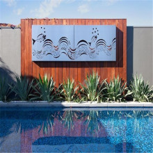 Metal Garden Wall Art