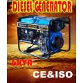 Générateur diesel portable 6kw Genset pour Afrique du Sud