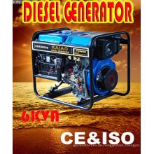 Tragbarer Dieselgenerator 6kw Genset für Südafrika