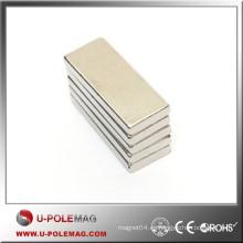 Comprar Imán de Neodymium del cubo del imán del descuento / poderoso Imán de NdFeB del cubo N42 Imanes del imán de F50x15x15mm / High Neodymium