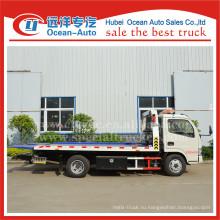 Dongfeng 4X2 4ton новые тяжелые грузовые эвакуаторы