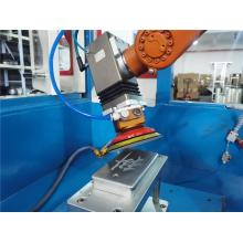 Robotic surface finishing sanding machine system