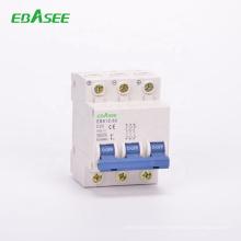 Good quality 6kA 1P 2P 3P 4P  dc mcb 6A 16A 20A 25A 32A 40A 63A miniature circuit breaker