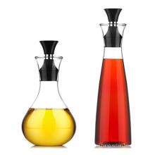 2019 New Design 500ml High Boronsilicon Glass Oil Suace Bottle with Drip Tube Lids