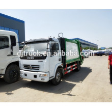 pequeño camión de basura Dongfeng / Mini Dongfeng camión de basura compresor / compresor de basura para 3-16 metros cúbicos