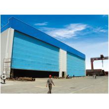 Hangar Gate aus flexiblem Stoff für den Außen- und Innenbereich
