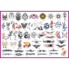 2016 Best Selling Products Airbrush Tattoo Stencil