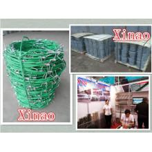 Clôture de ferme enduite en plastique de ventes d'usine de bonne qualité