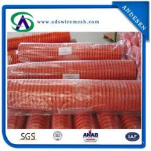 Оранжевый Предупреждающий Барьер Забор Забор Пластиковые Безопасности