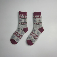 High Quality Full Jacquard Winter Thick Socks