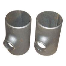 1/2''-48'' carbon steel reducing tee