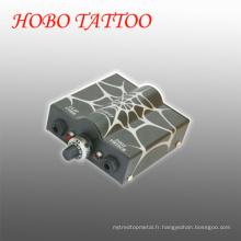 Machine de beauté professionnelle Tattoo Alimentation avec cordon de clip
